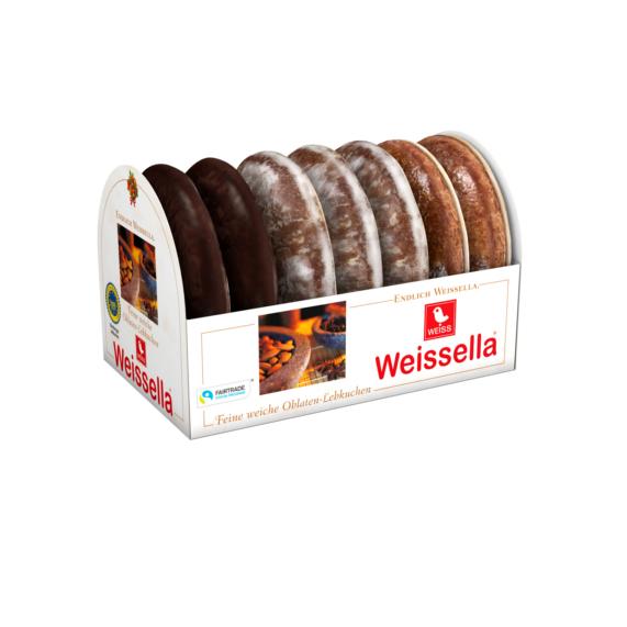 Lebkuchen mit Schokolade aus Fair-Trade-Handel